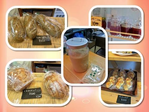 石神井川桜並木と春色パン屋さん
