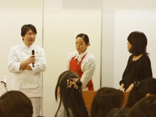 伊勢丹新宿店にて開催しました「パンを楽しむ会~春~」