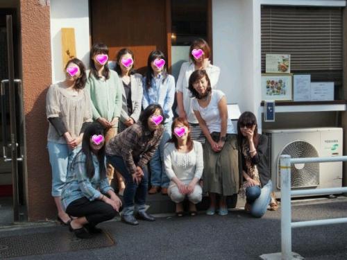 2014' 第1回 外deパン築地『はしば』で『わぱん』女子会
