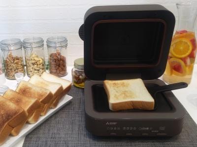 パン好き注目の新商品「三菱ブレッドオーブン」