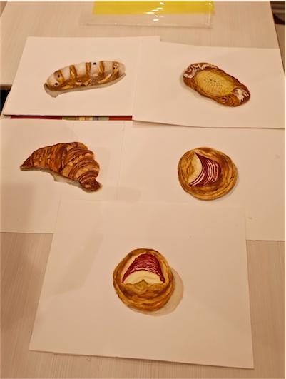 笹原由子先生の水彩パン画教室(ブレッドプラントOZ)